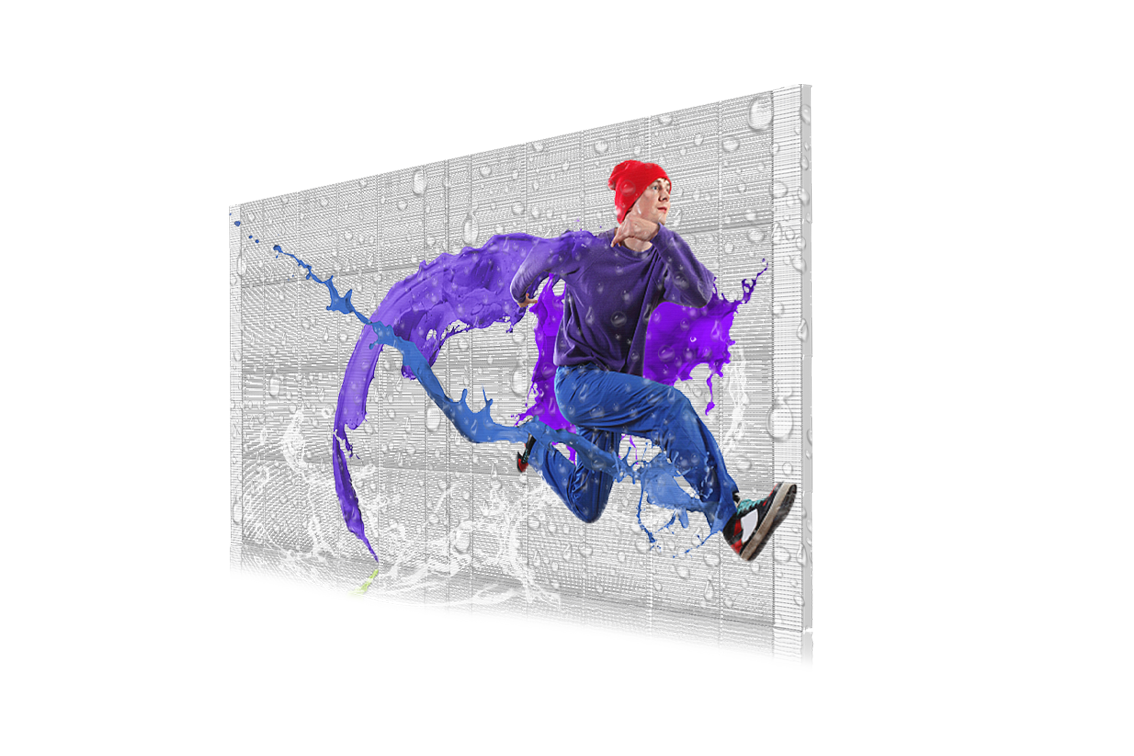 KTO户外防水透明屏系列